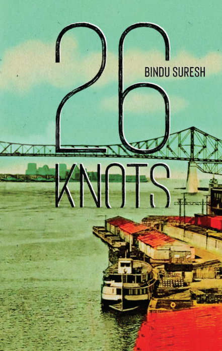 Cover: 26 Knots, a novel by Bindu Suresh