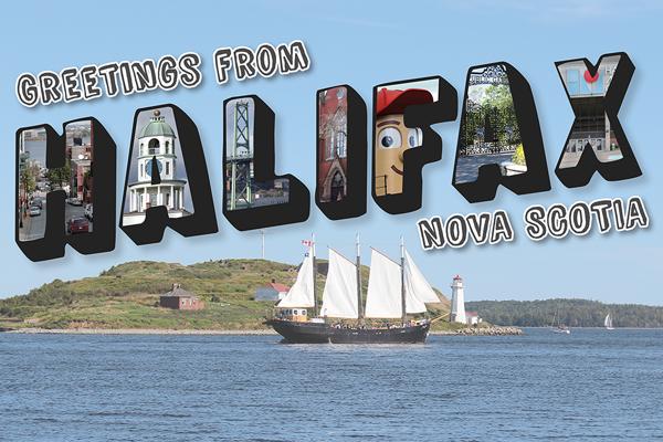 Halifax Postcard