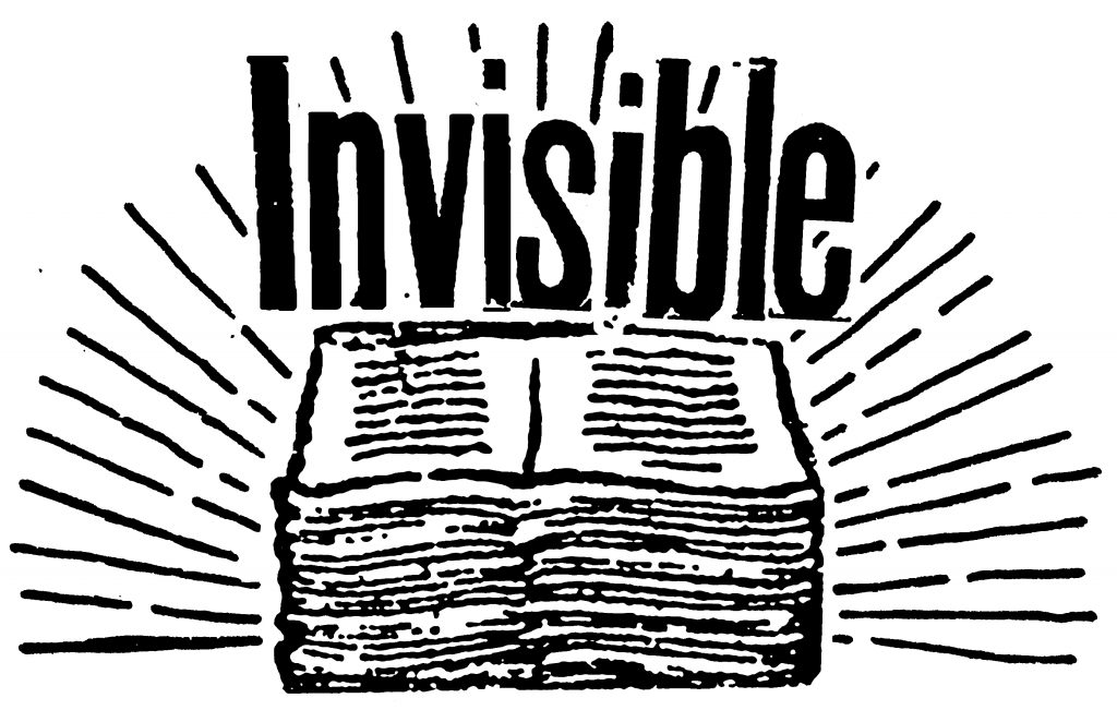 Invisible Publishing logo