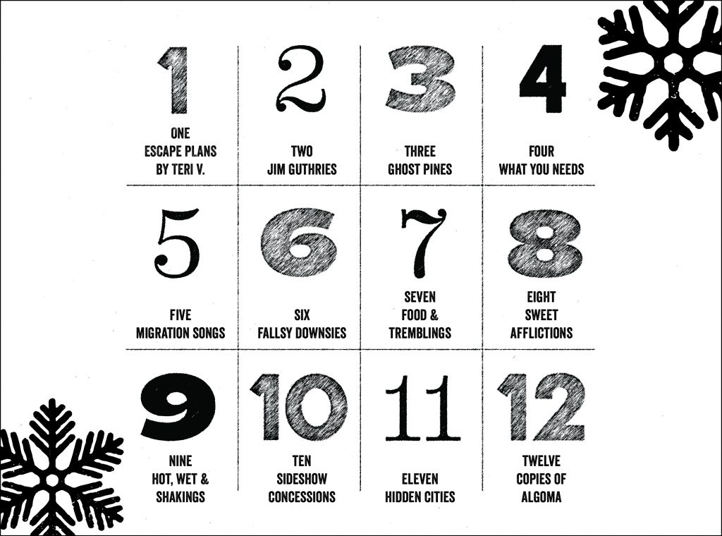 The 12 Days Of Christmas.12 Days Of Christmas Archives Invisible Publishing