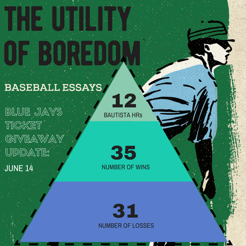 Utility of Boredom Ticket Giveaway Update No. 1