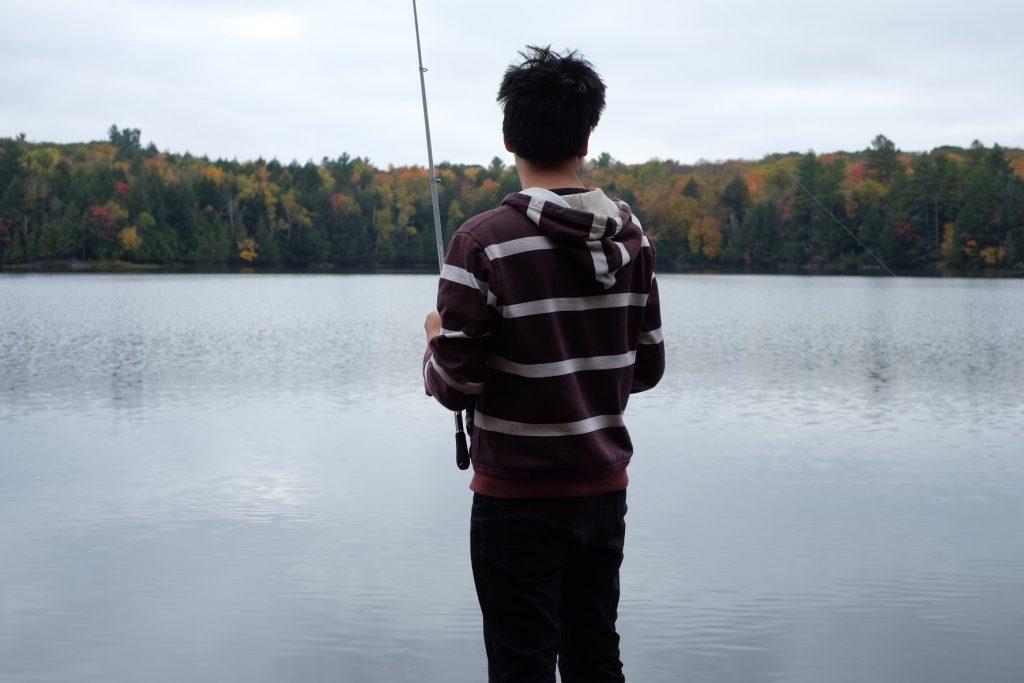 Bryan Ibeas fishing photo