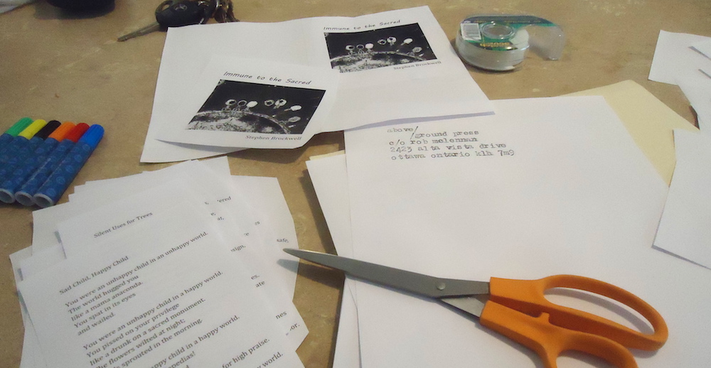 rob mclennan's chapbook production process