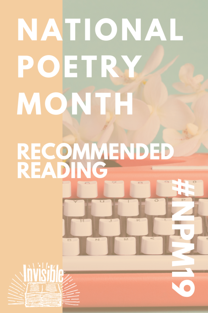 National Poetry Month 2019 reading recommendations