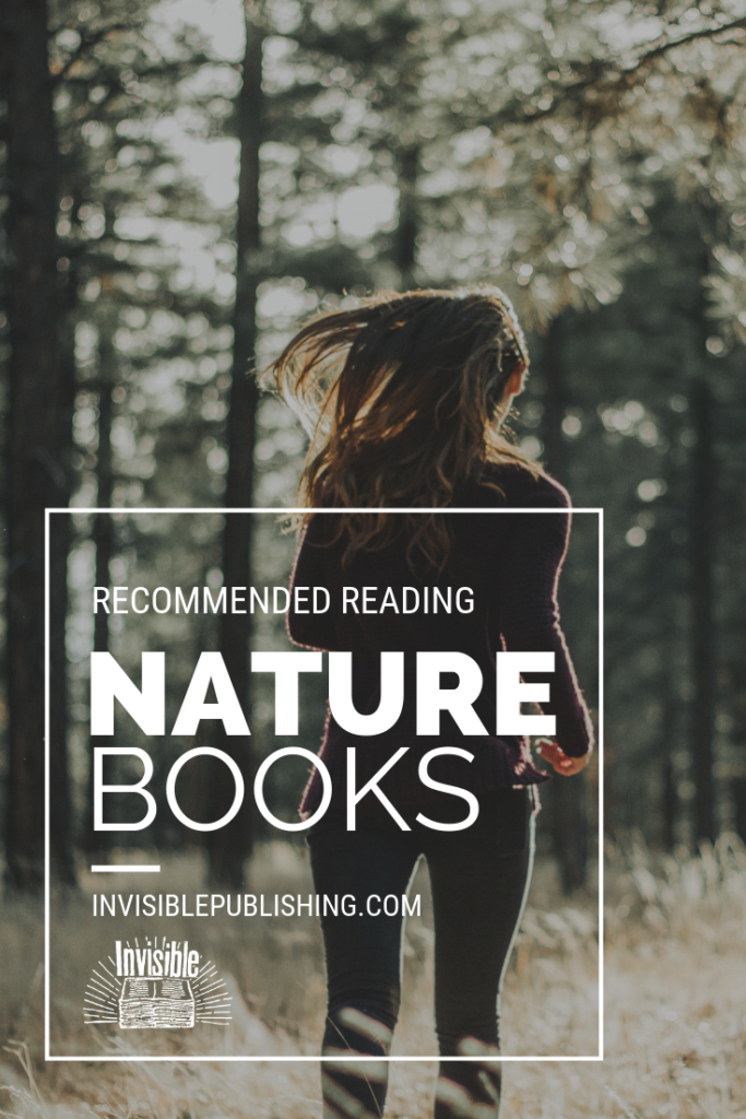 List of recommended nature reads pinterest image