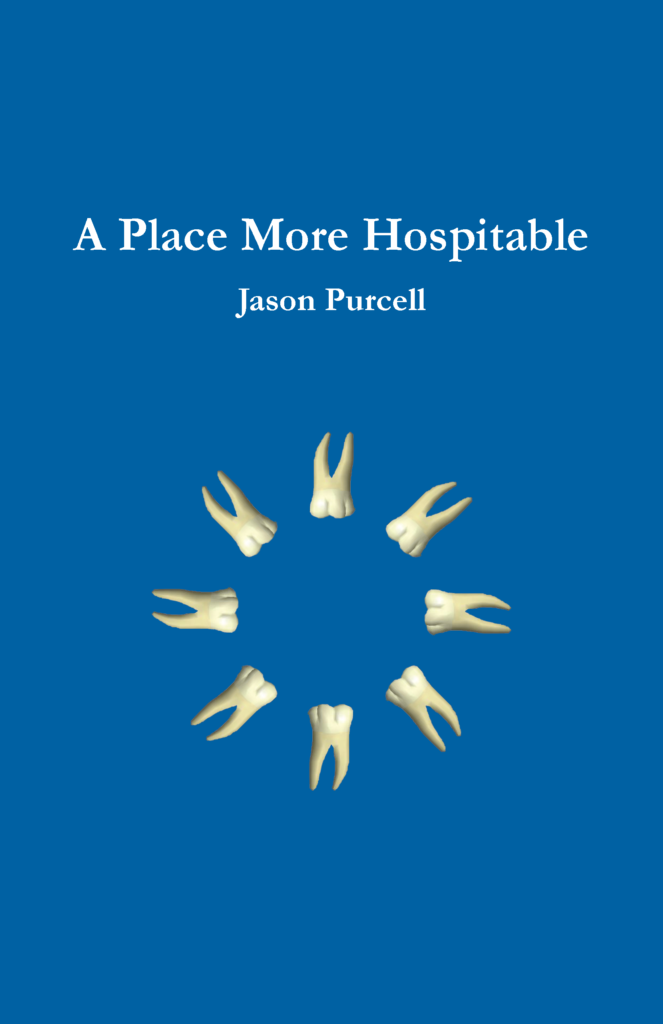 Book cover image for A Place More Hospitable by Jason Purcell.