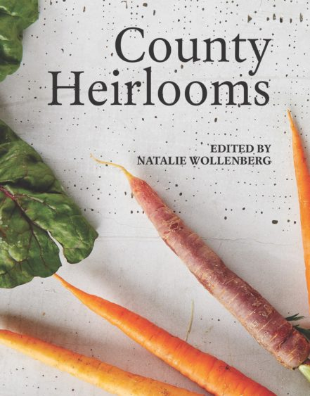 Book cover: County Heirlooms recipes and interviews from Prince Edward County